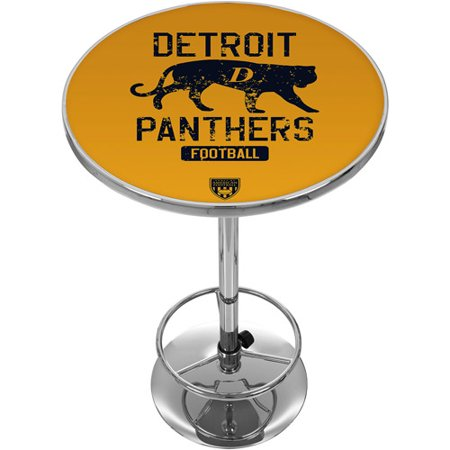 VAF Detroit Panthers Chrome Pub Table Detroit Lions Pub Table