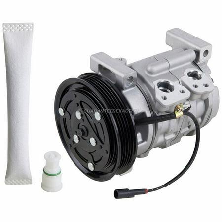AC Compressor w/ A/C Drier For Chevy Tracker 1999 2000 2001 2002 2003