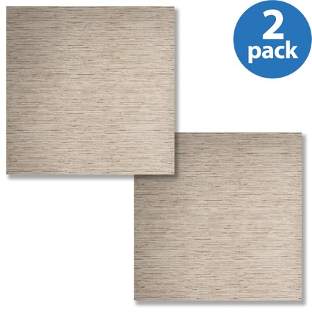 RoomMates Grasscloth Peel and Stick Wall Decor Wallpaper, 2-pack
