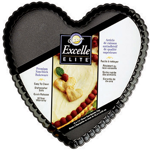 Wilton Excelle Elite Heart Tart/Quiche Pan