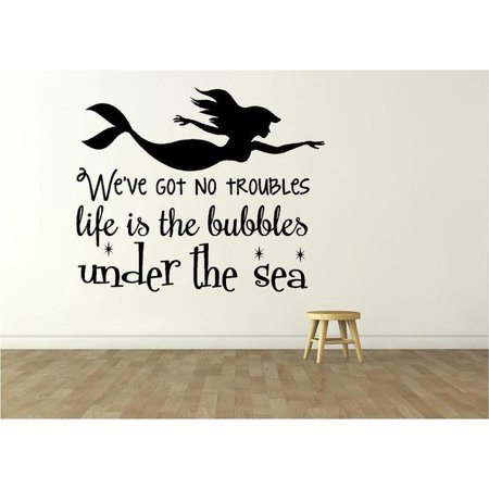 Little Mermaid Movie Decor - Vinyl Wall Decal - Kid's Bedroom Decoration | 20