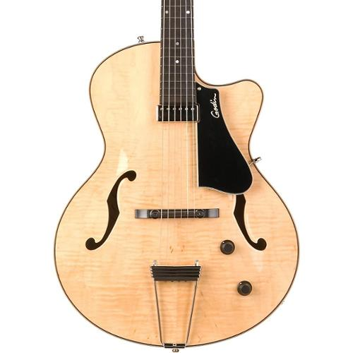 Godin 5th Avenue Jazz Archtop Hollow Body Electric Guitar (Natural) by
