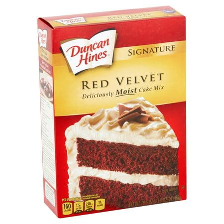 Duncan Hines Cake Mix Calories