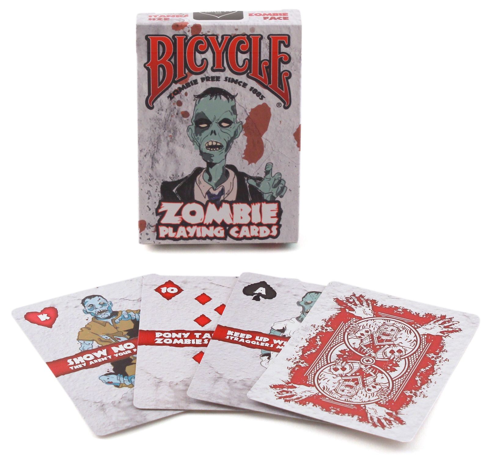 CARDS BICYCLE ZOMBIE