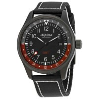 Alpina Startimer Pilot GMT Black Dial Men's Watch