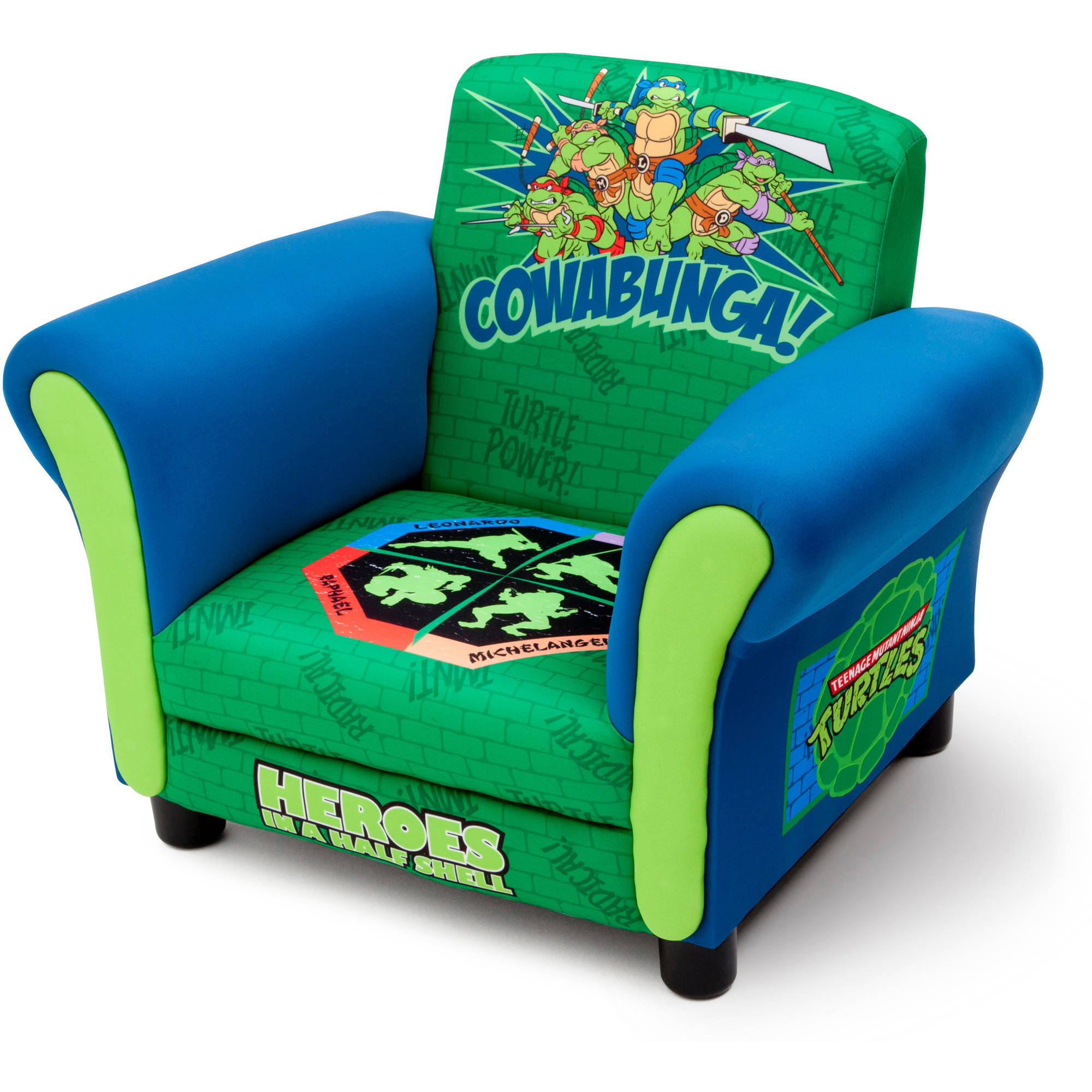 Delta Children s Products Nickelodeon Ninja Turtle Upholstered