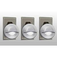 LED Concepts 3-Pack of Night Sensor Swivel Head LED Lights