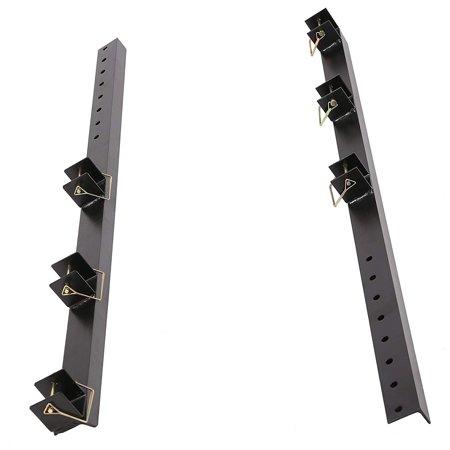 Heavy Duty Trimmer Rack holder Carrier mount on Pickup/Trailer For 3 (American Gardener Trimmer)