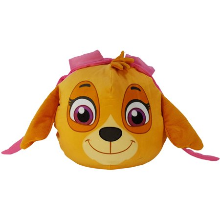 Nickelodeon Paw Patrol Skye 11u0022 x 11u0022 3D Ultra-Stretch Travel Cloud Pillow, 1 Each