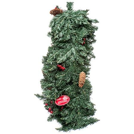 Bulk Christmas Garland.New 377993 Hx Galand 9ft 220t W Cherry Fruit 12 Pack Christmas Cheap Wholesale Discount Bulk Seasonal Christmas Garland