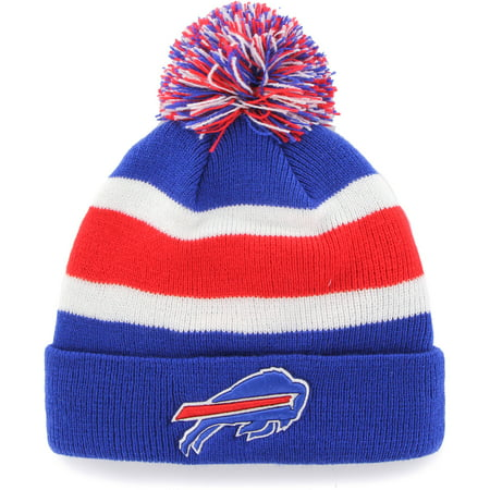 Fan Favorite - Breakaway Beanie with Pom, Buffalo (Buffalo Bills Retro Hat)