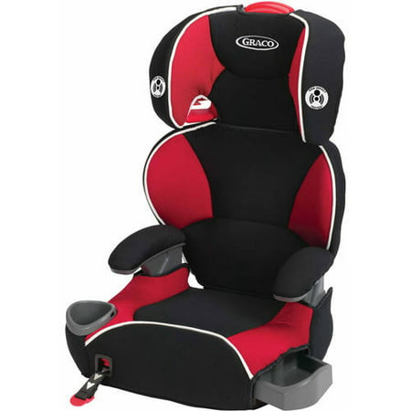 Enjoyable Graco Affix High Back Booster Car Seat Atomic Red Dailytribune Chair Design For Home Dailytribuneorg