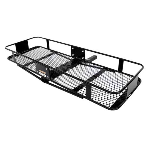 Curt 18130 - Bolt-Together Steel 60W x 20D Steel Basket Cargo Carrier - Fixed Shank