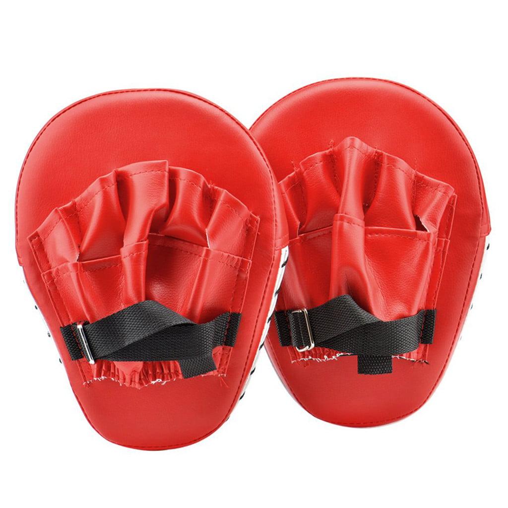 2pcs Focus Boxing Punch Mitts Training Pad for MMA Karate Muay Thai Kick
