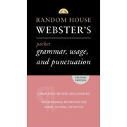 Random House Webster's Pocket Grammar, Usage, and Punctuation : Second Edition