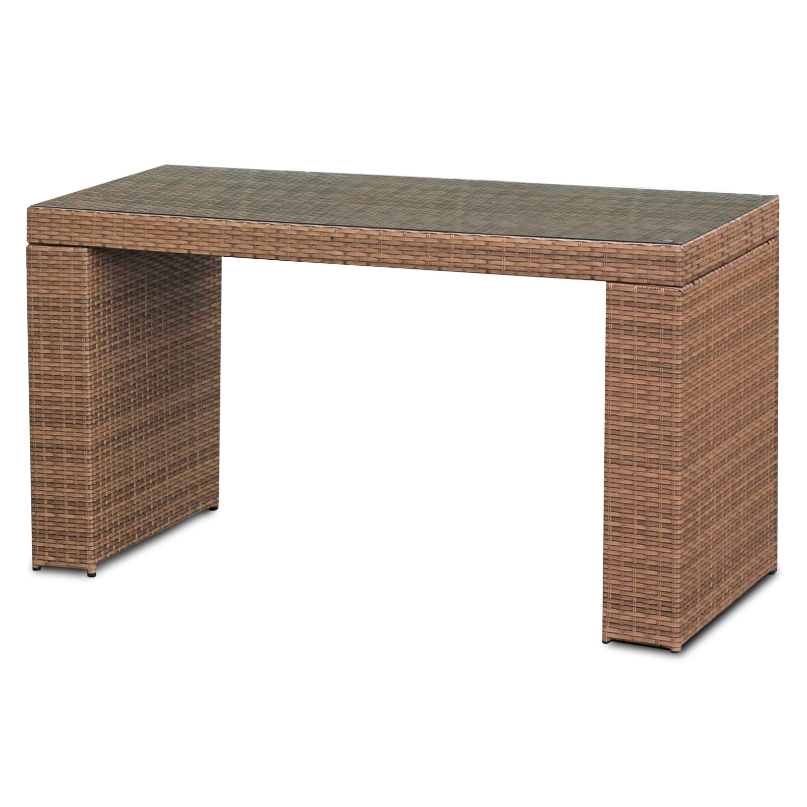 Tuscan Bar Table Set With Barstools 7 Piece Outdoor Wicker Patio Furniture    Walmart.com