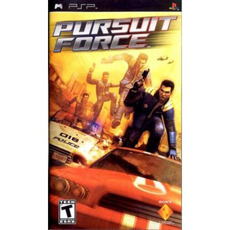John Force Racing Shop (Pursuit Force - Sony PSP)