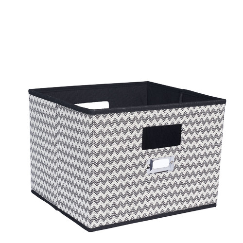 Household Essentials Open Storage Bin with Cutout Handles