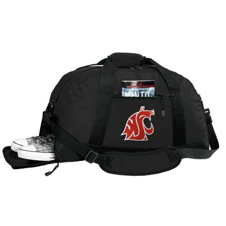 33b1c3bdab02 Washington State Duffel Bag or Washington State University Gym Bag WITH SHOE  POCKET - Walmart.com