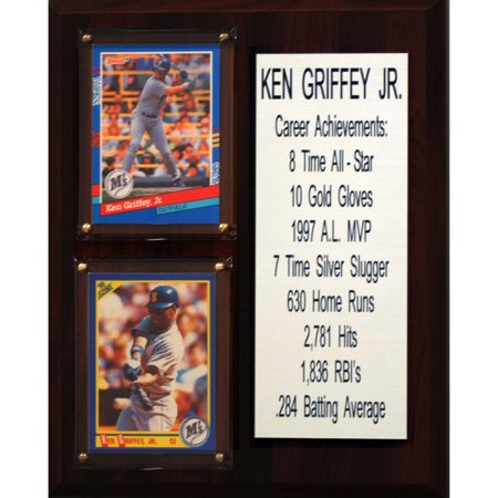 C&I Collectables MLB 8x10 Ken Griffey Jr. Seattle Mariners Career Stat Plaque ()