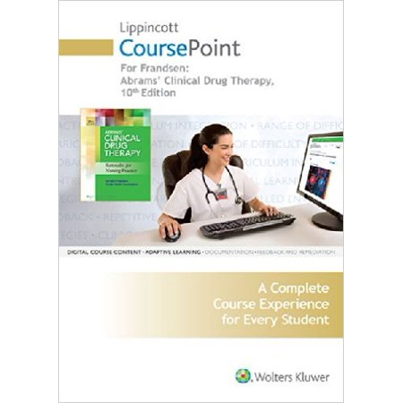 Clinical Drug Therapy   Coursepoint   Fundamentals Of Nursing  8Th Ed  Skill Checklists   Fluids   Electrolytes Made Incredibly Easy   6Th Ed