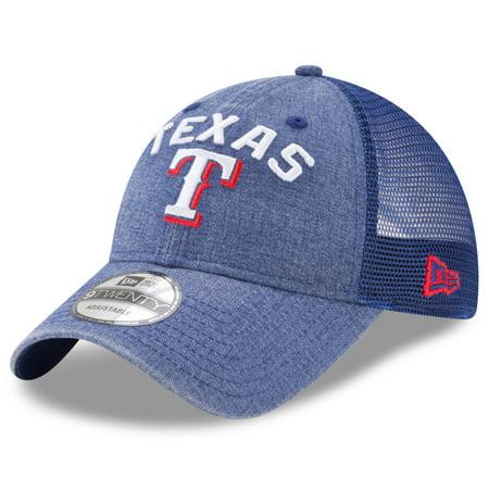 quality design 71297 8f041 Texas Rangers New Era Rugged Team 9TWENTY Snapback Adjustable Hat - Royal -  OSFA - Walmart.com