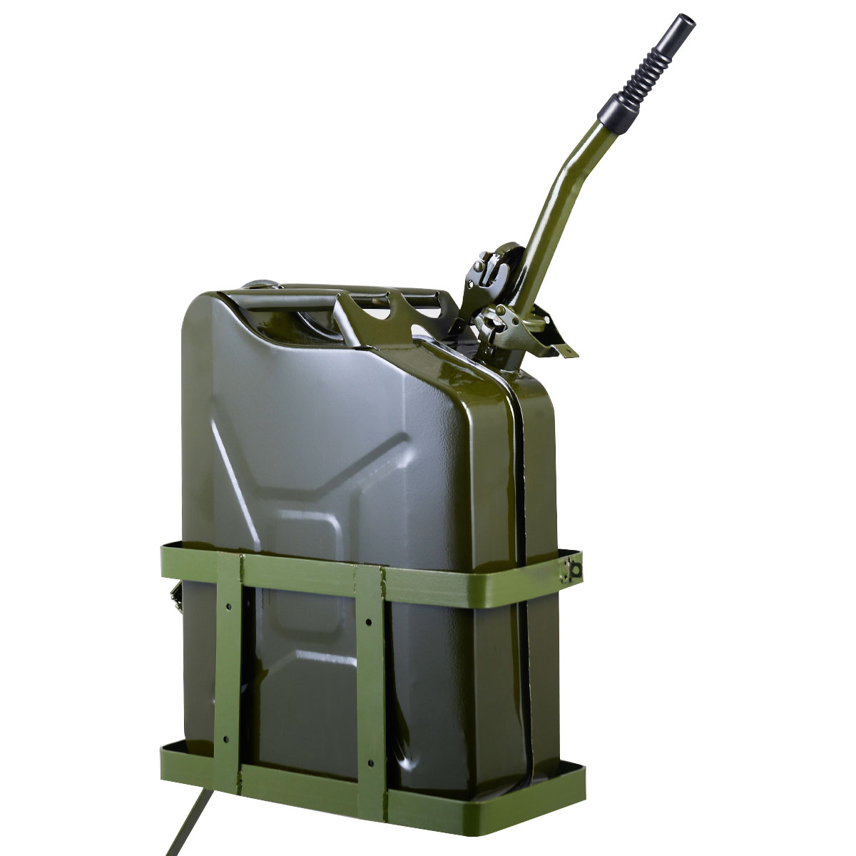 20L Steel Jerry Can Olive Green
