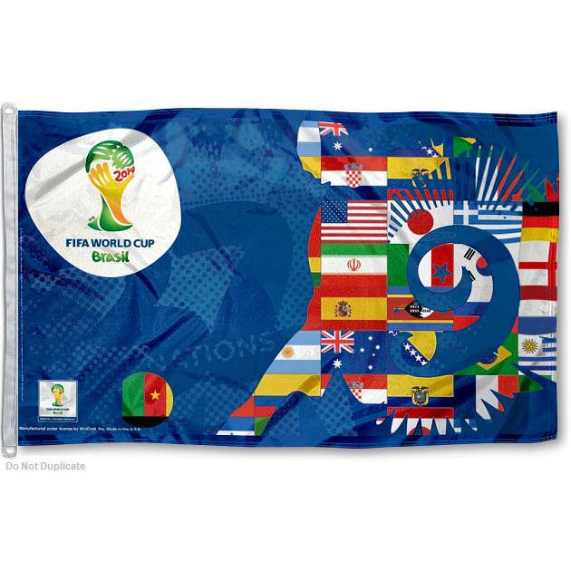 Brazil National Soccer Team Logo Flag