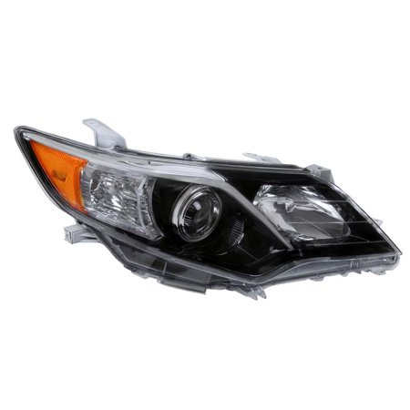 Spec-D Tuning For 2012-2014 Toyota Camry SE Style Shiny Black Right Side Projector Headlight