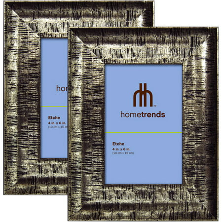 Hometrends 4x6 Picture Frame, Champagne