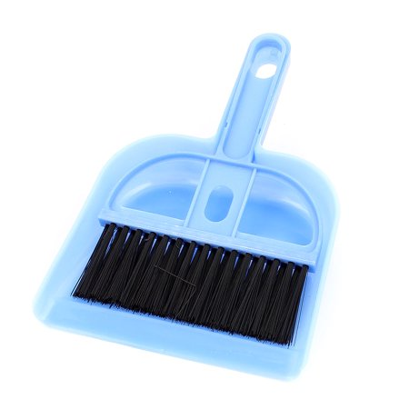 car dashboard desktop sofa computer keyboard cleaning brush dustpan set blue. Black Bedroom Furniture Sets. Home Design Ideas