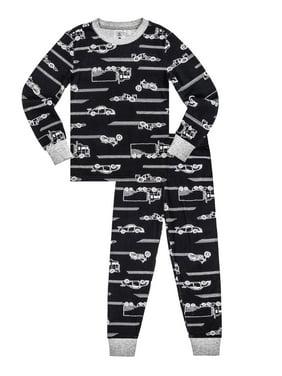 c8ab51432 Product Image Long Sleeve Cotton Tight Fit, 2pc Pajama Set (Toddler Boys)