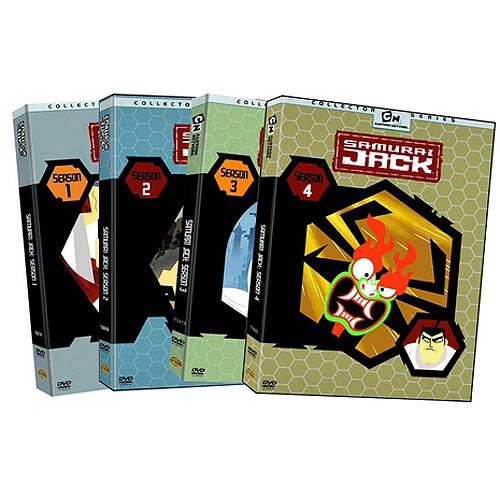 Samurai Jack: The Complete Seasons 1-4