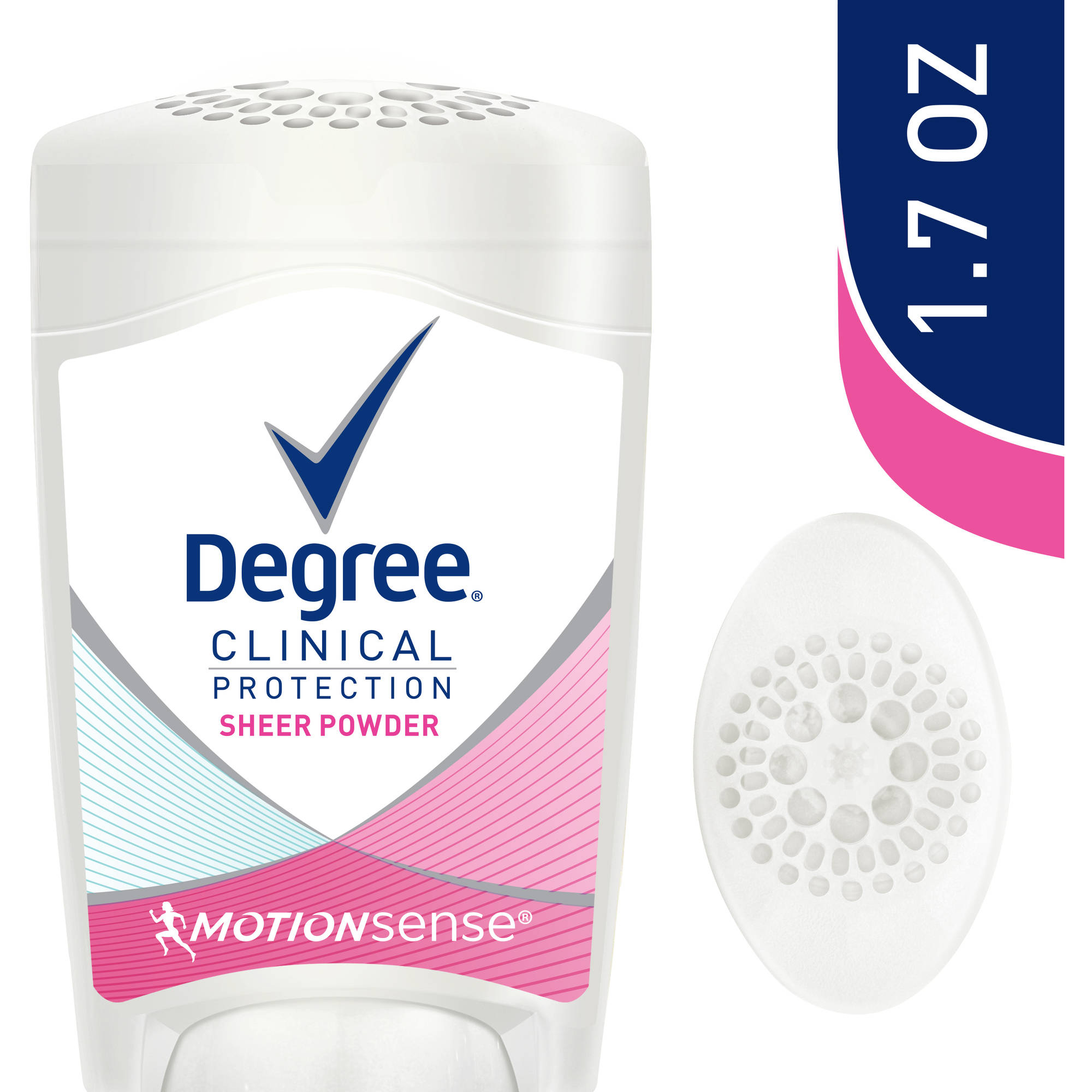Degree Clinical Protection Sheer Powder Anti-Perspirant & Deodorant, 1.7 oz