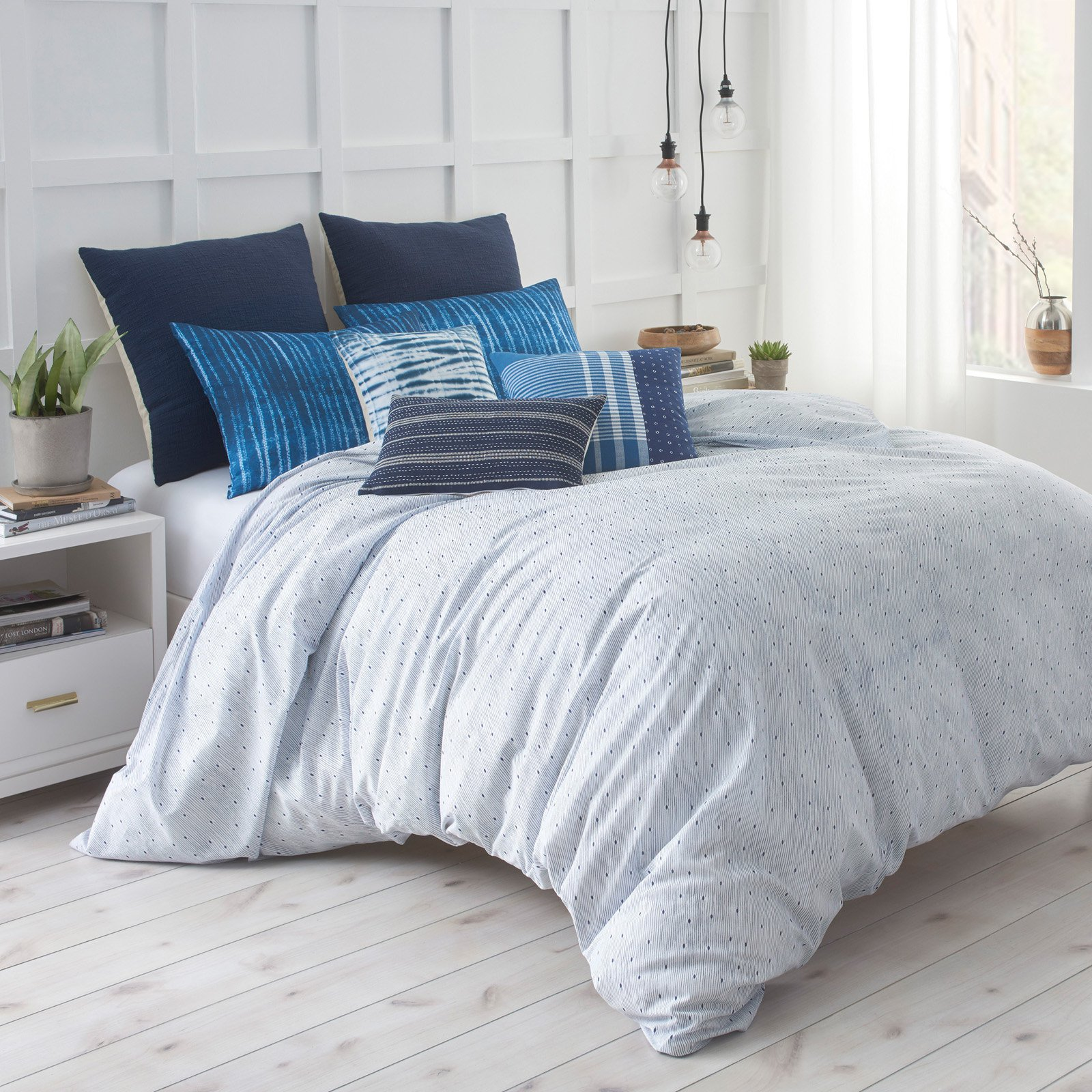 Under the Canopy Shibori Chic Duvet Cover Set