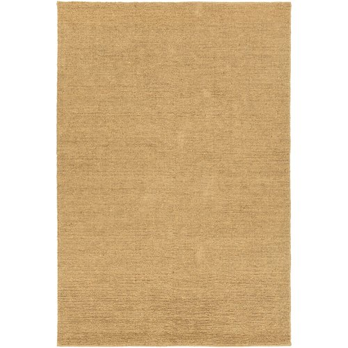 Chandra Rugs Amco Hand-Woven Gold Area Rug by Chandra Rugs