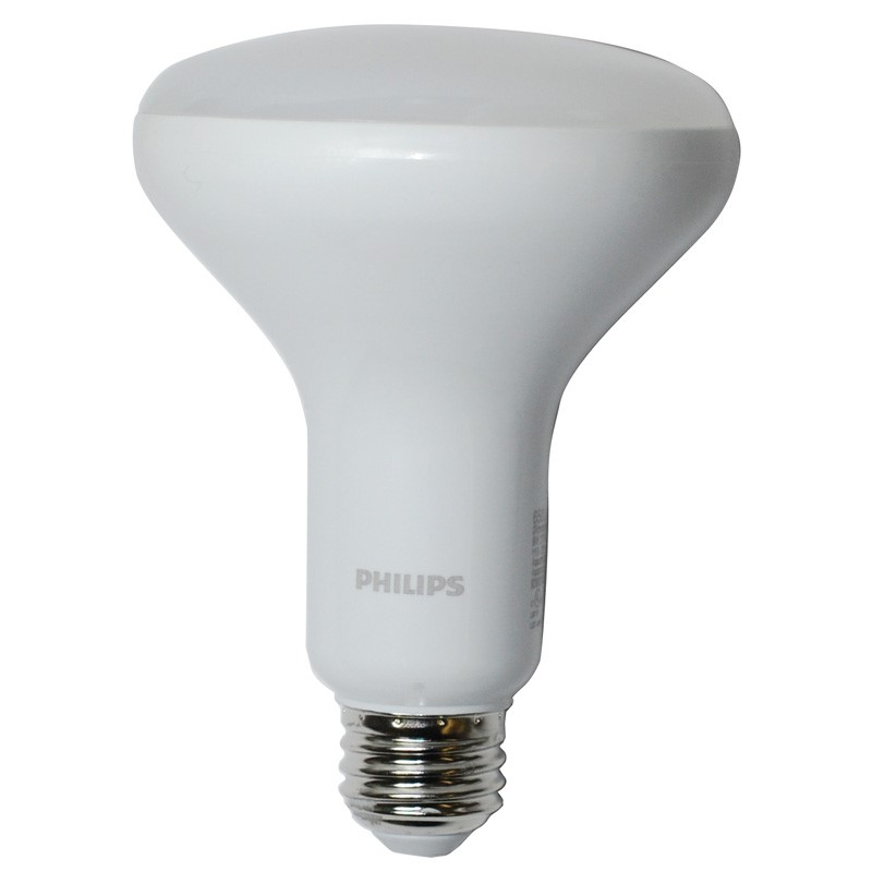 Philips LED Dimmable Flood Light Bulb, BR30, Soft White with Warm Glow, 65 WE