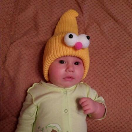 Cute Toddler Kids Girl&Boy Baby Infant Winter Warm Crochet Knit Hat Cap - image 1 of 5