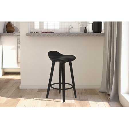 Contemporary Black Counter (DHP Odessa Modern Dining Counter Stool, Multiple Colors )