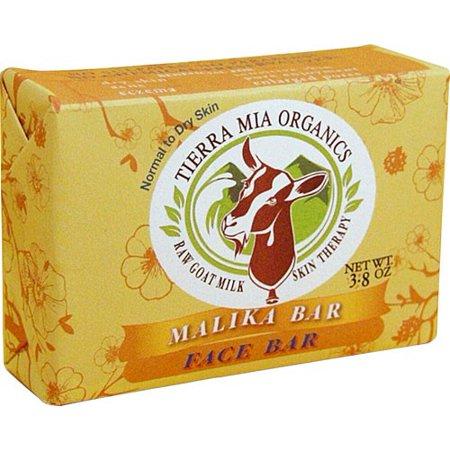 Tierra Mia Organics Goat Milk Soap Bar, Malika, 3.8 Oz