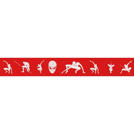 Amazing Spider Man Paper - The Amazing Spider-Man Crepe Paper Streamer (30ft)
