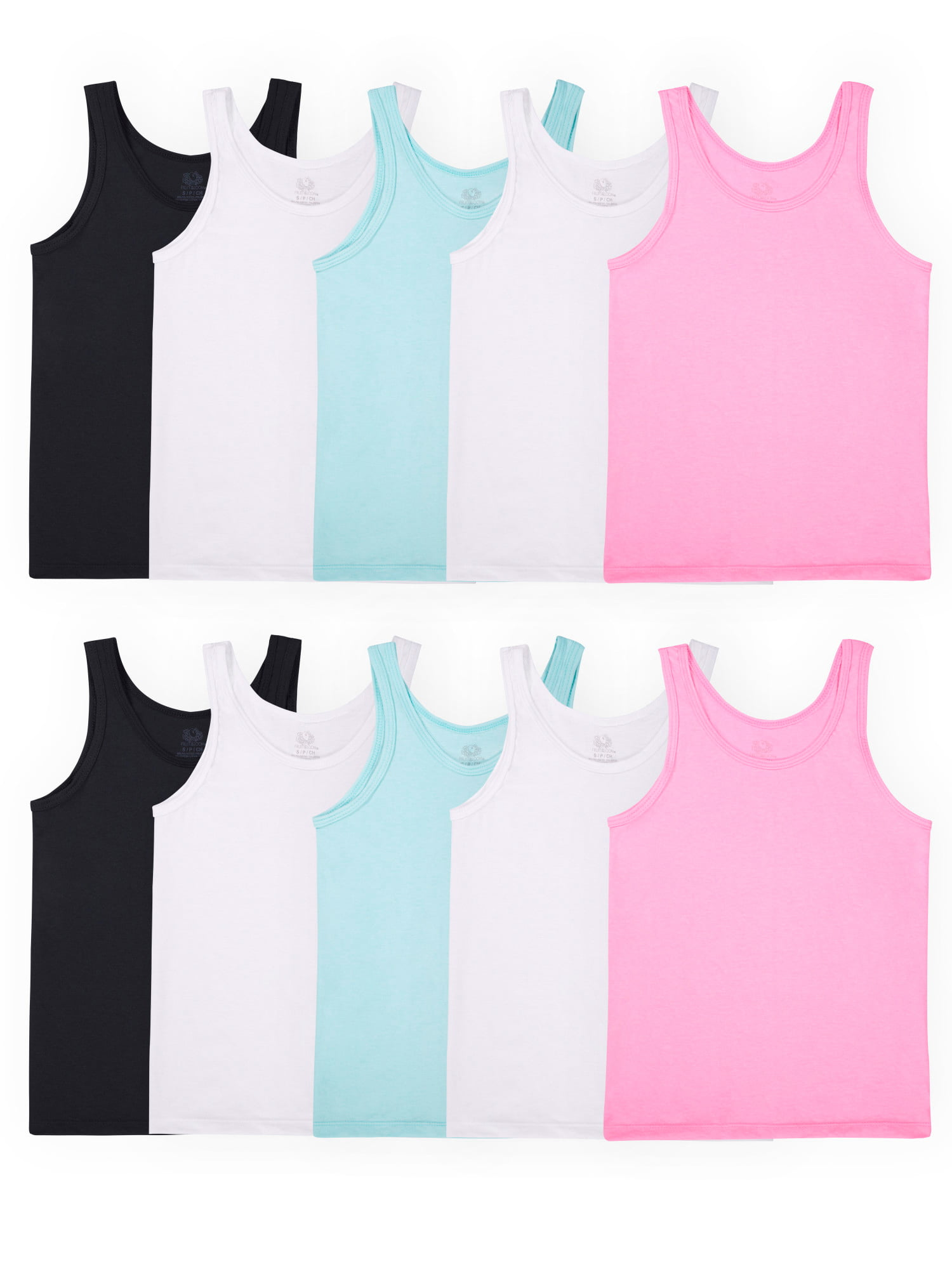 Fruit of the Loom Girls Girls Undershirts Underwear