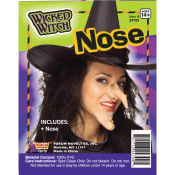 Witch Nose Halloween Costume - Glam Witch Makeup For Halloween
