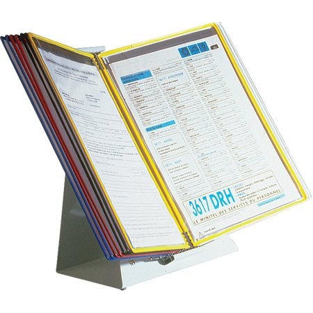 Tarifold Desktop Reference System, Assorted Panel, 1 Each (Quantity)