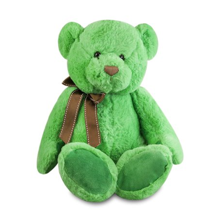 - Gitzy 12 inch Sitting Green Bear