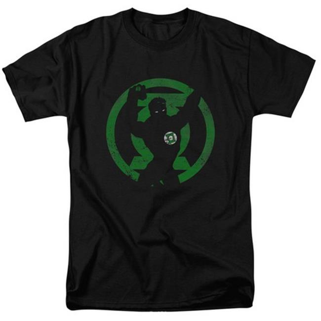 Dc-Gl Symbol Knockout Short Sleeve Adult 18-1 Tee, Black - Medium - image 1 de 1