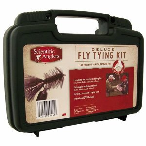 Scientific Anglers Deluxe Fly Tying Kit thebookongonefishing