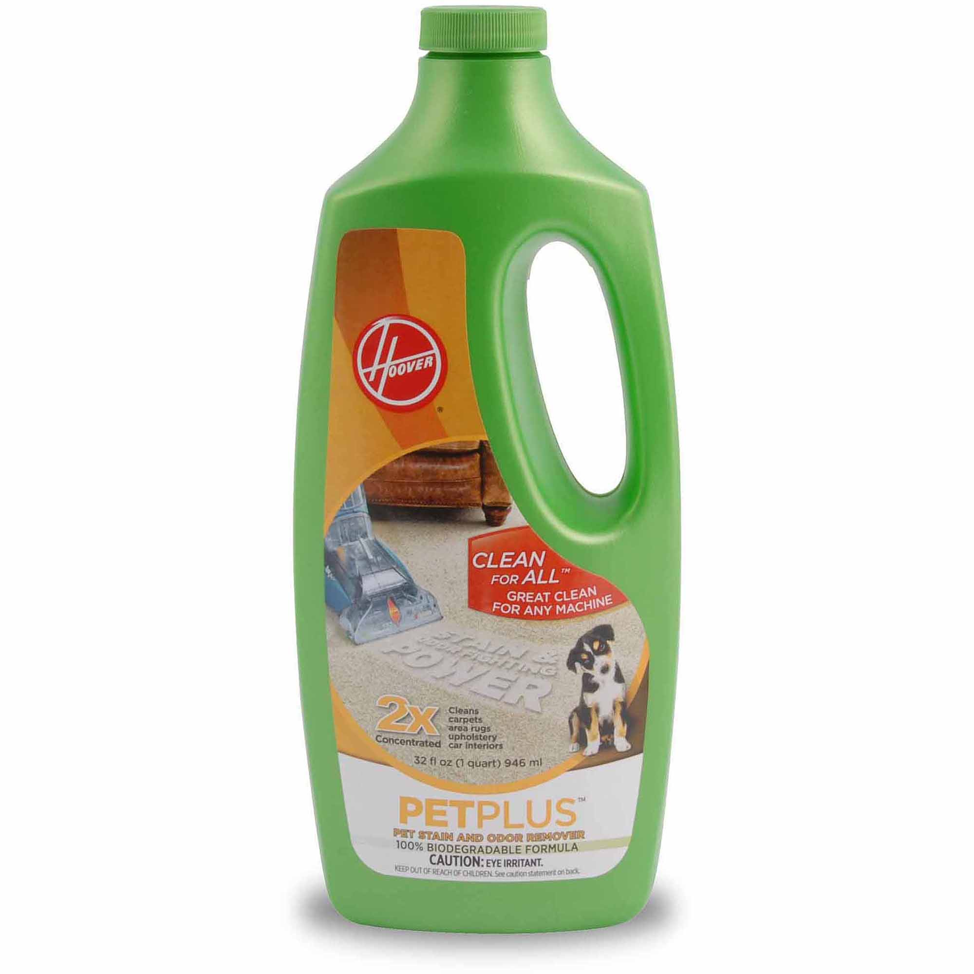 Hoover 2X PetPlus Pet Stain & Odor Remover 32 oz, AH30325