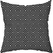 Checkerboard, Ltd Hex Indoor/Outdoor Throw Pillow