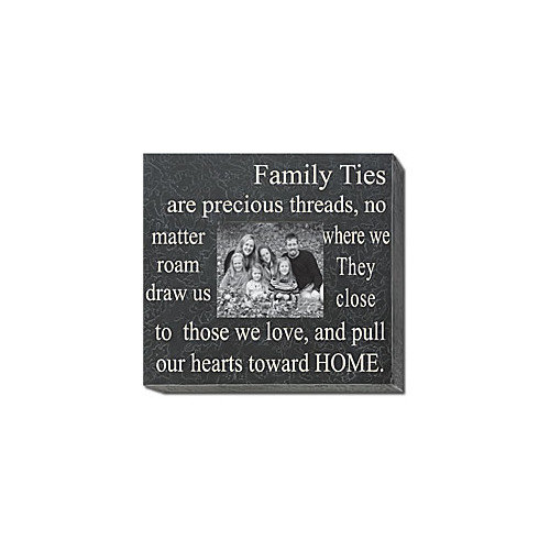Forest Creations Family Ties Are Precious Threads... Home Frame